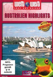 Australien Highlights mit Bonusfilm Neuseeland (Reihe welt weit) Gesamtlänge: ca. 74 Min.