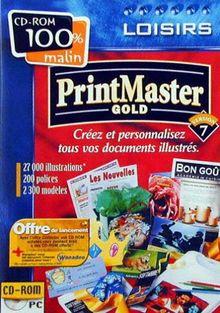 Print Master 7 [Import]