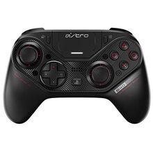 ASTRO Gaming C40 TR-Controller - Kompatibel mit Playstation 4 und PC + Zubehör (Reisetasche, 4 weitere Tastenkappen, Kabelloser USB-Transmitter), Schwarz