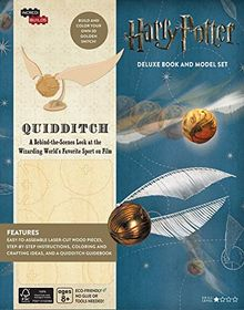 INCREDIBUILDS: HARRY POTTER: QUIDDITCH DELUXE BOOK AND MODEL SET