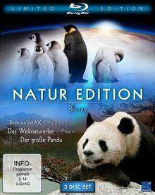 Natur Edition (Seen On IMAX: Antarctica / Das Weltnaturerbe: Schätze unserer Erde - Asien / Der große Panda) [Blu-ray] [Limited Collector's Edition]