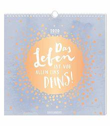 "Postkartenkalender 2020 ""Das Leben"""