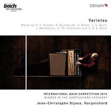 Varietas - Werke für Cembalo - Gewinner des International Bach Competition 2014