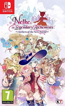 Nelke & The Legendary Alchemists: Ateliers of The New World NSW [