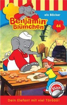 Benjamin Blümchen - Folge 44: als Bäcker [Musikkassette]