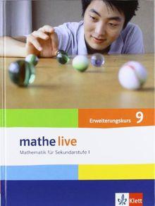Mathe Live / Schülerbuch 9. Schuljahr