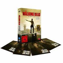 The Walking Dead - Die komplette dritte Staffel - UNCUT - inkl. 4er Art-Card Set [5 DVDs]