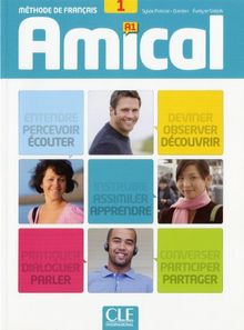 Amical 1 A1 - Livre + CD(9782090386028)