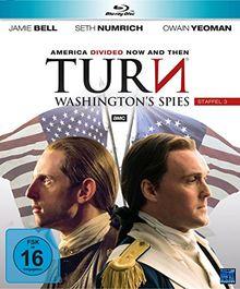 Turn - Washington's Spies - Staffel 3 [Blu-ray]