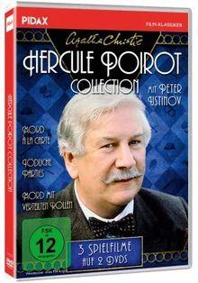 Agatha Christie: Hercule Poirot-Collection / Drei spannende Spielfilme mit Peter Ustinov (Mord à la Carte +Tödliche Parties + Mord mit verteilten Rollen) (Pidax-Film-Klassiker)