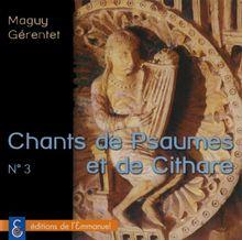 Psaumes et cithares CD 3