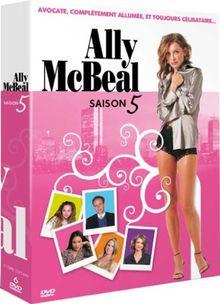 Ally McBeal : intégrale saison 5 - coffret 6 DVD [FR Import]