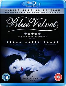 Blue Velvet [Blu-ray] Special Edition inc Unseen Footage (exclusive to amazon.co.uk) [UK Import]