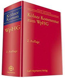 Kölner Kommentar zum WpHG (Kölner Kommentar zum Unternehmens- und Gesellschaftsrecht)