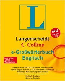 Langenscheidt Collins e-Großwörterbuch Englisch