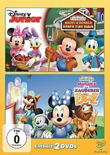 Micky Maus Wunderhaus - Micky & Donald haben eine Farm / Der Zauberer von Dizz [2 DVDs]