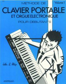 Partition: Methode de clavier portable pour debutants vol. 1
