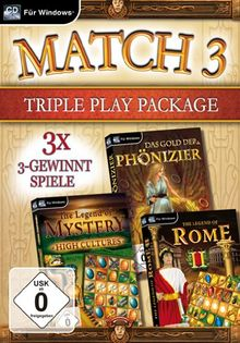 Match 3 Triple Play Package (PC)