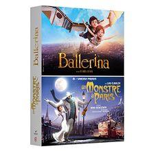 Coffret animation 2 films : ballerina ; un monstre à paris