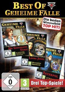 Best of Geheime Fälle Vol. 1 (Laura Jones / Die gestohlene Venus / Interpol)