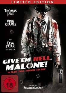 Give 'em Hell, Malone! (Limited Edition, Steelbook)