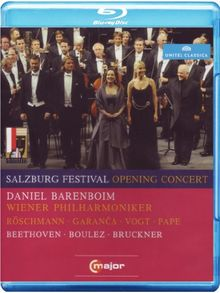 Salzburg Festival Opening Concert [Blu-ray]