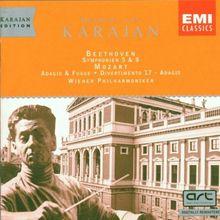 Karajan-Edition (Karajan in Wien Vol. 4) - Symphonien 5 & 8/ Adagio & Fugue, Divertimento