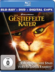 Der Gestiefelte Kater (inkl. DVD + digital Copy) [Blu-ray]