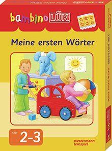 bambinoLÜK-Sets: bambinoLÜK-Set: Meine ersten Wörter