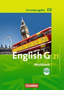 English G 21 - Grundausgabe D: Band 3: 7. Schuljahr - Workbook mit CD