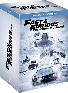 Coffret fast and furious 8 films [Blu-ray] [FR Import]