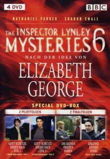 The Inspector Lynley Mysteries Vol. 06 Finale Special Box (4DVDs)