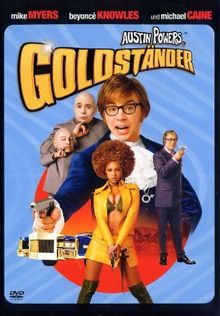 Austin Powers in Goldständer