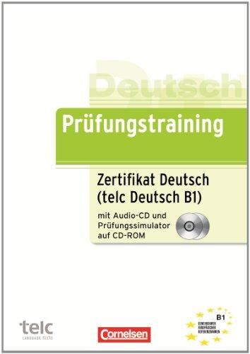 B1 Zertifikat Deutsch Telc Deutsch übungsbuch Mit Cd Und Cd Rom