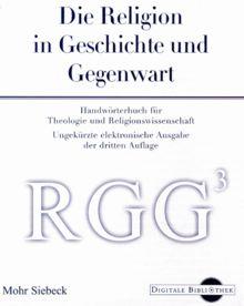 Die Religion in Geschichte und Gegenwart (Digitale Bibliothek 12)