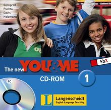 The New YOU & ME. Sprachlehrwerk für HS und AHS (Unterstufe) in Österreich / The New YOU & ME - CD-ROMs - CD-ROM 1 (Einzel-PC)