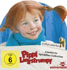 Pippi Langstrumpf Sonderedition als Leporellofächer [4 DVDs]