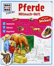 Mitmach-Heft Pferde