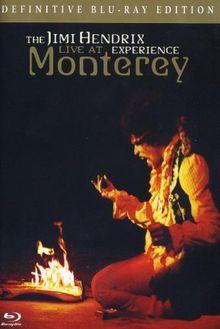 Jimi Hendrix - Live at Monterey [Blu-ray]