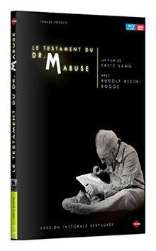 Le testament du dr. mabuse [Blu-ray] [FR Import]
