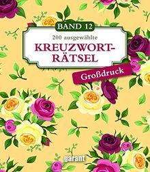 Kreuzworträtsel Deluxe Groß- Band 12
