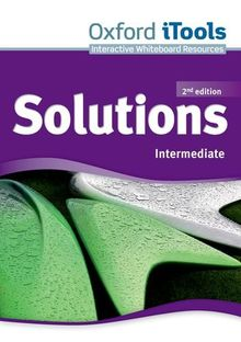 Solutions 2nd edition Intermediate. iTools (Solutions Second Edition)