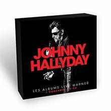 Johnny Hallyday-les Albums Live Warner