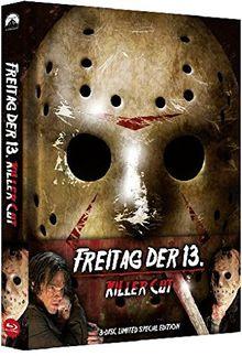Freitag, der 13. - Killer Cut - Uncut/Mediabook (+ DVD) (+ Bonus-DVD) [Blu-ray]
