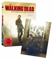 The Walking Dead - Die komplette fünfte Staffel - UNCUT LTD. - LTD. Steelbook mit Lenticular [Blu-ray]