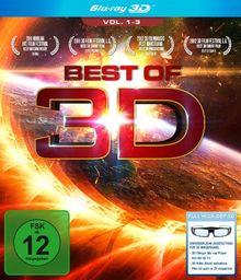 Best of 3D - Vol. 1-3 [3D Blu-Ray]