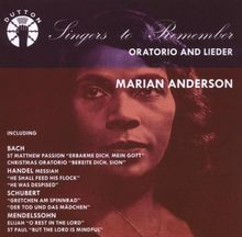 Oratorio and Lieder