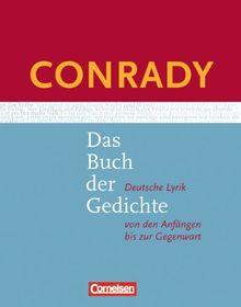 Conrady Das Buch Der Gedichte Neue Ausgabe Gedichtband