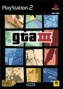 Third Party - GTA III Occasion [ PS2 ] - 5026555300506