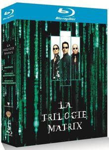 Coffret Matrix La trilogie 3 Blu-Ray : Matrix + Matrix Reloaded + Matrix Revolutions [Blu-ray] [FR IMPORT]